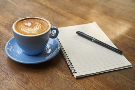 Image result for coffee and writing